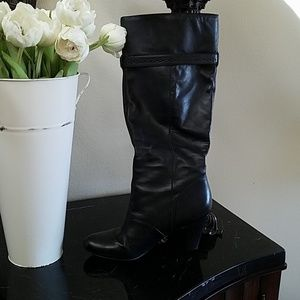BCBG knee high boots in black